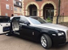 Modern Rolls Royce for weddings in Chelsea